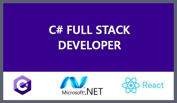 C#/.NET-React Fullstack