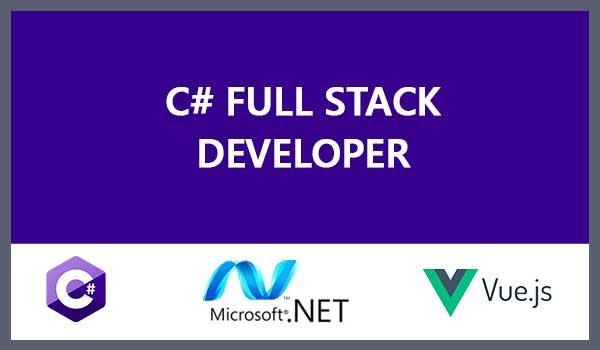 C#/.NET-VueJS Fullstack