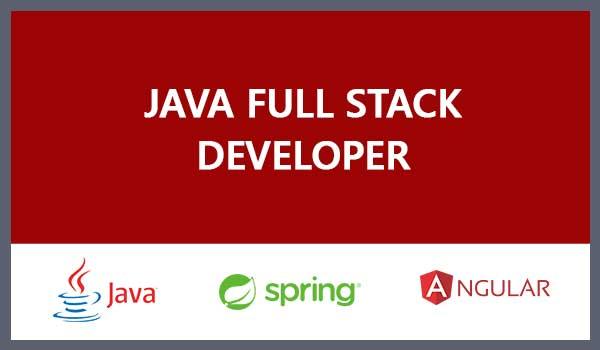 Java/Spring-Angular Fullstack