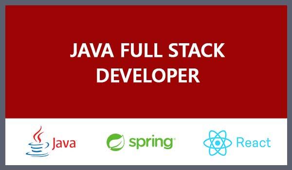 Java/Spring-React Fullstack