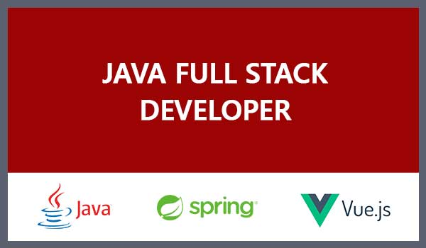Java/Spring-VueJS Fullstack