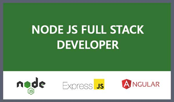NodeJS/Express-Angular Fullstack