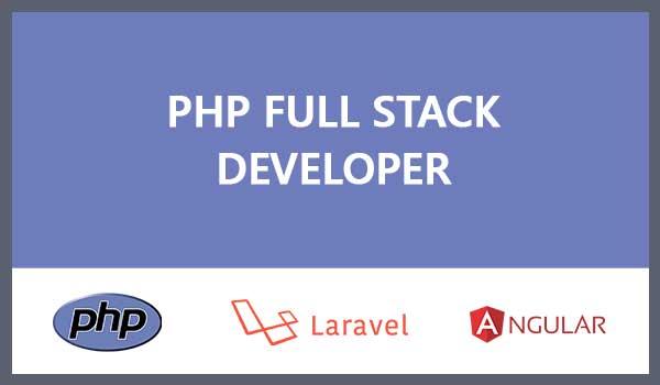 php laravel angular fullstack
