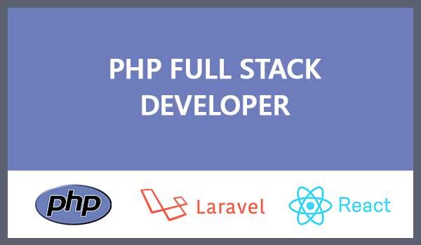 Php laravel React fullstack