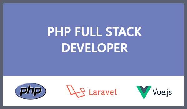 Php laravel VueJS fullstack