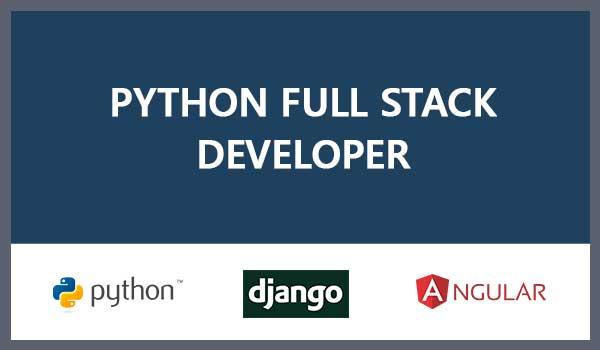 python django angular fullstack