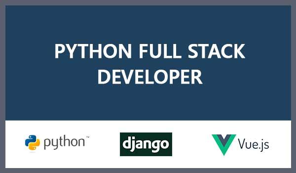 Python/Django-VueJS Fullstack